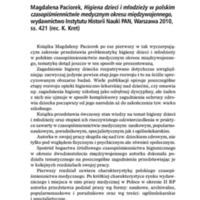Magdalena Paciorek, Higiena dzieci i młodzieży w polskim.pdf