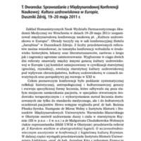 T. Dworecka Sprawozdanie z Międzynarodowej Konferencji.pdf
