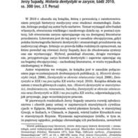 Jerzy Supady, Historia dentystyki w zarysie.pdf