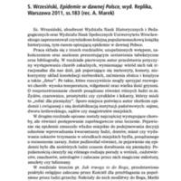 S. Wrzesiński, Epidemie w dawnej Polsce.pdf
